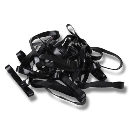 flätningsband 500 st svart 39 kr - Flätningsband