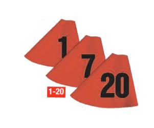 Nummer sleeve - Hindermarkör Sleeve